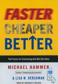 Faster, Cheaper, Better (2021)